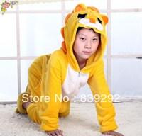 Kids lion CO12 onesies Pyjamas Cartoon Animal Cosplay Costume Pajamas Kids Onesies Sleepwear Halloween