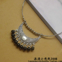 Accessories tibetan miao silver national trend accessories collar necklace