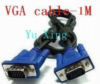 New 1M High quality 3+9 vga cable ferrite cores  Wholesale premium