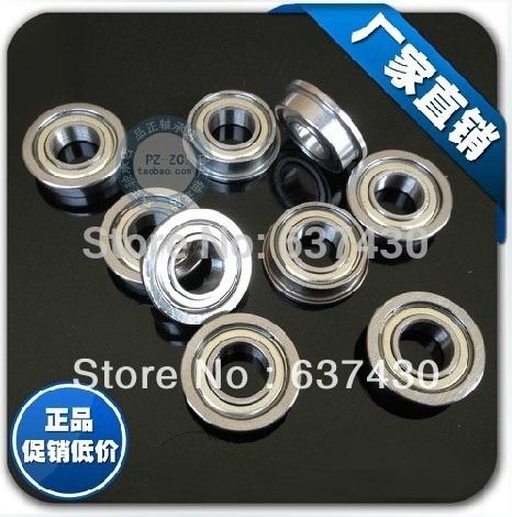 100pcs Flanged bearing F693 F693ZZ F693-2Z miniature flange ball bearings 3x8x4 mm(China (Mainland))