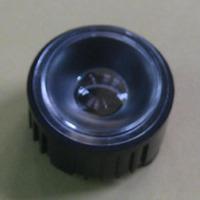 Free shipping black 45 degrees High Power LED Lens (Concave center glossy) led bulb lenses LED Ellipse Lenses