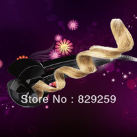 Free Shipping As Seen On TV Professional MiraCurl Nano Titanium Perfect Curl Automatic Curls Black Color Universal Voltage