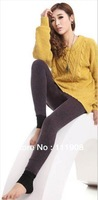 Anti-pilling stretchable sexy women leggings as fashion slimming shaping lady leggings spring winter thicken warm pants supply.