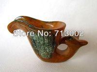 Vintage Sunset Glow Jade Wineglass Wine Cup - Beast Head Handle