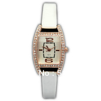 5PCS Wholesale Women Ladies Fashion Nice Brand Leather Quartz Watches Wristwatches