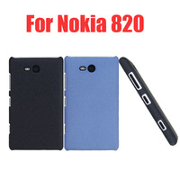 Free Shipping! High Quality Hard Matte Cover Case for Nokia Lumia 820 Matte Hard Case Cover, Gift 1pcs stylus pen