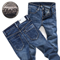 2013 fashion designer brand men elastic  jeans skinny denim pants trousers,8703