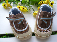 Hot Sell 0-6mboys shoes prewalker babys infant first walkers PU shoes sneakers skid-proof soft sole 831