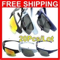 2013 Hotsale 20Pcs/Lot High-quality PC UV400 Outdoor Sports Riding Climbing Fishing Glasses Polarizer Sunglasses #8310