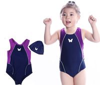 free shipping for 2-14yrs, Sports Child/Children/ Girls' swimsuit / swimwear kids set one pieces swimwear/Swimming Beachwear
