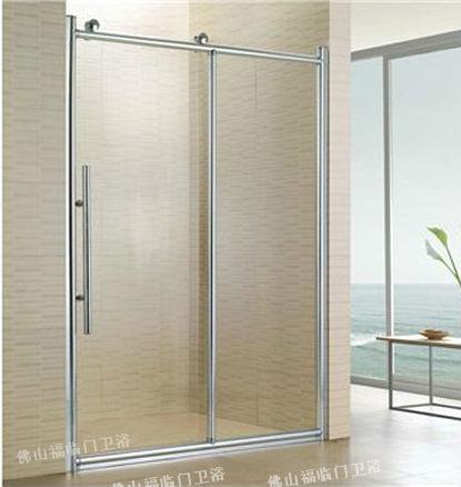 Silent Big Pulley Bathroom Glass Partition Shower Screen Fortune Oil Sliding Door