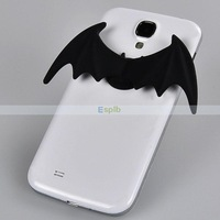 10pcs/lot Universal Mobile Phone Accessories Phone Decorations Silicone wings For Samsung/iPhone /HTC