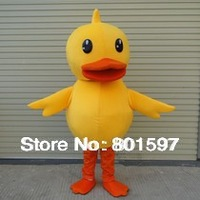 DUCK ADULT SIZE MASCOT COSTUME FANCY DRESS CLOTHING