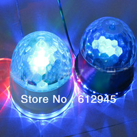 11W LED CRYSTAL MAGIC ball &SUNFLOWER LED Light  2 in 1 give you suprise
