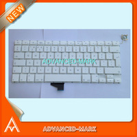 Free Shipping New !  Keyboard for Macbook Unibody A1342 MC516LL/A Laptop ,  PO Portuguese Portugal Layout , White Color