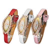 3 PCS Wholesale Women Nice Stylish Jewelry Fashion Wrist Watches Leather Watches