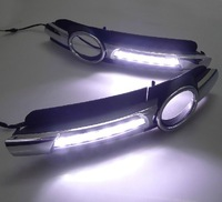 High Quality LED DRL for Audi A6 Daytime Running Light for Audi A6 2005-2008 Free Shipping