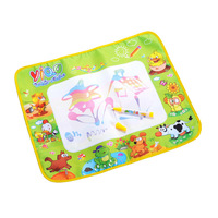 New Arrival Hot Sales Kids Water Drawing Painting Writing Mat Board &Magic Pen Doodle Toy Gift 58*48CM Free shipping &wholesale