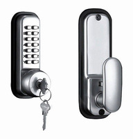 MECHANICAL KEYLESS DIGITAL DOOR LOCK- NO BATTERIES NEED NEW