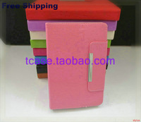 "Flip Magic LEATHER CASE Cover +Stylus+Film For 9.7"" Texet TM-9741 TM-9747 TM-9748 3G TM-9747BT TabletFree Shipping"
