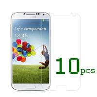 2013 New High Quality Screen Protector + Cleaning Cloth for Samsung Galaxy S4 i9500 IV 10pcs/lot free  shipping