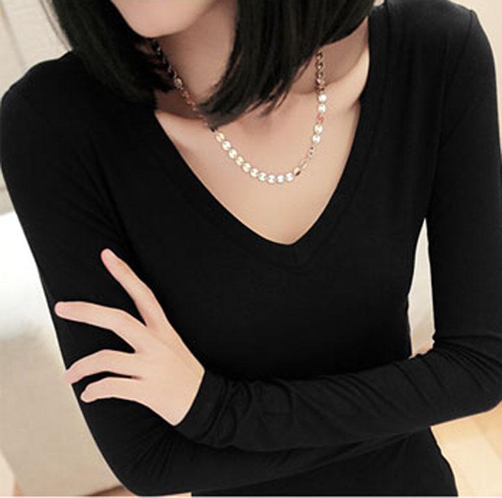 Shirt Necklines Neckline Basic T-shirt