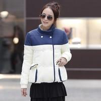 Women's autumn and winter cotton clothes trend women's outerwear Women outergarment girls