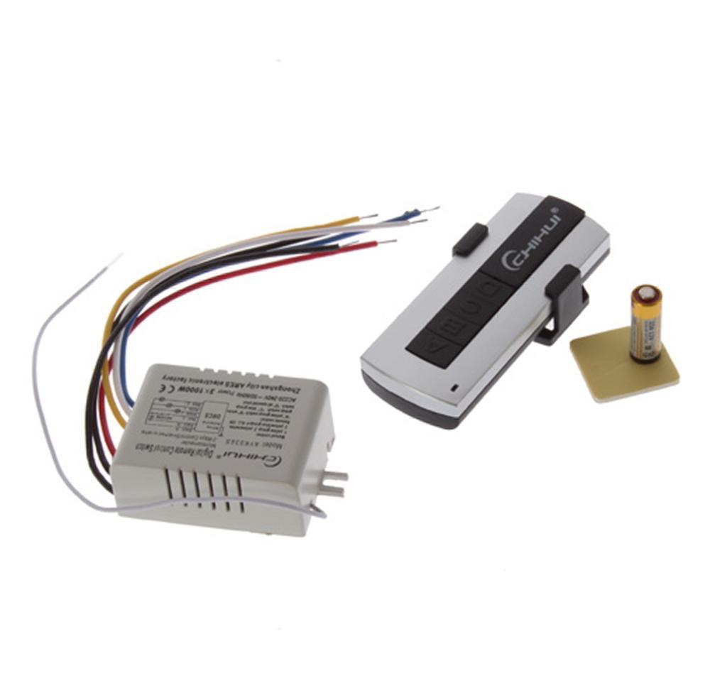 1Set Digital Wireless 3 Channels Switch Splitter Box with Remote Control 220V-240V(China (Mainland))