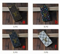 1 piece new arrive luxury 3D leather cover case for iphone 5 5s g bag