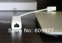 Free Shipping High Quality USB Multi-function To LAN Adapter + 3 USB Ports for Apple MacBook Air MacBook Pro Retina Laptop PC