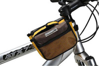 2013 new Cycling Bike Bicycle bigger style Frame Pannier Front Tube Bag yellow