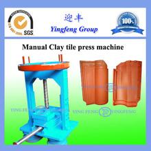 Manual clay roof tile making machine(China (Mainland))