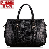 Popularize 2013 female fashion vintage crocodile pattern women's trend handbag fashion bag women messenger bags totes