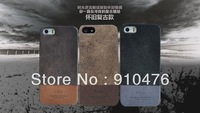 Vintage Collection Genuine Leather Back Cover  for iPhone 5C Free Shipping with Screen Protector