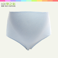 2014 new maternity supplies high waist stripe bamboo fibre panties  fashon comfortable briefs for pregannt women
