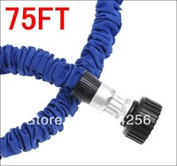 Free Shipping 30sets/lot Expandable Water Hose 75FT Garden Water Hose As Seen On TV Garden Hose with Metal Connector Spray  Gun
