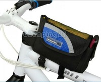 2013 New Beautiful Cycling Bike Bicycle Frame Pannier Front Tube Bag Blue