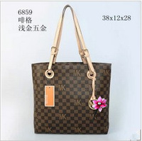 2013 designer brand fashion letter print women's handbag  handbags,PU leather messenger bags for woman, Famous Brand New