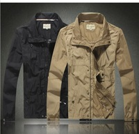 Your new winter coat is a solid casual multi pocket jacket polo men's military jacket free shipping POLO