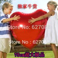 Creative 10pcs/lots wholesales 36 inch Heart balloons Aluminum foil balloons , wedding decorate bauble