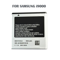 High Quality Replacement Cellphone Battery EB575152LU Mobile batteries For Samsung Galaxy GT-i9000 I9003 I9088 I8250 i9010 i9001