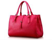 New 2014 women messenger bags fashion women's Genuine leather shoulder bag women handbag vintage bag famous brand cowhide tote