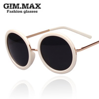 Free shipping Star style bird sunglasses round psy oversized sunglasses black prince's mirror vintage sunglasses