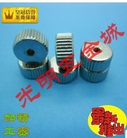 he hand nut straight knurl nuts circular M2.5, D=10MM