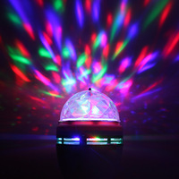Crystal magic ball led ktv laser light colorful lights voice-activated remote control belt