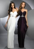 Vogue Of New Fund Of 2014 Catch Beads And Chiffon PROM Dress Can Wholesale Free Shipping