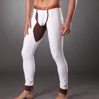 HOT WM genuine: free shipping wholesale and retail low-waist sexy fashion Slim men's cotton bottoming warm Qiuku: WMf0a