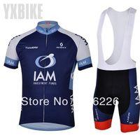 Free Shipping!! CYCLING SHORTS JERSEY+BIB SHORTS 2014 NEW IAM Cycling Kit / Jersey / Pants Bike Clothes SETS  SZ:XS-4XL