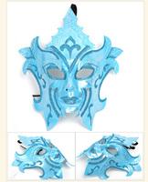 Beautifully domineering male mask masquerade masks,