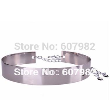 belts for metal silver belt wide chain hip